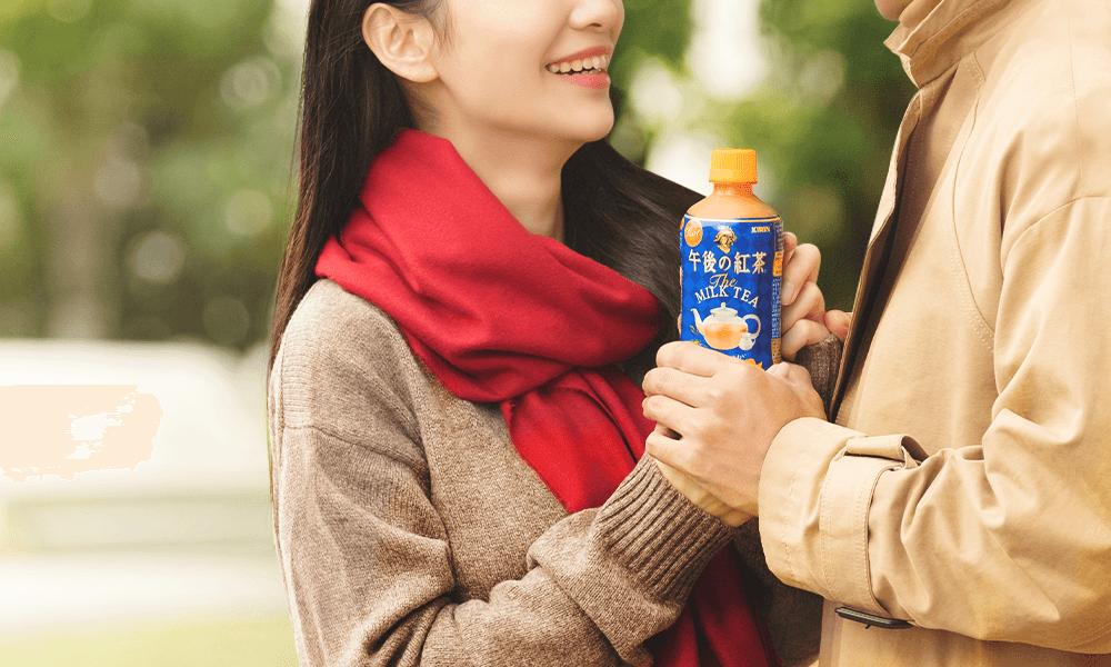 分享溫暖的熱奶茶,戀情暖暖 UP!